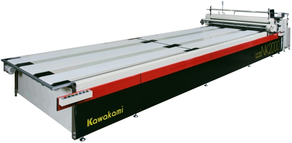 Standard-sizing cutting system spreader NK2000 Series NK2000A / NK2000Z